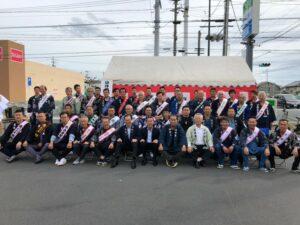 袋井北祭り 本部開き 記念撮影